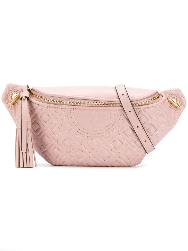 88f693d2cfd8 Lyst - Tory Burch Fleming Belt Bag in Pink