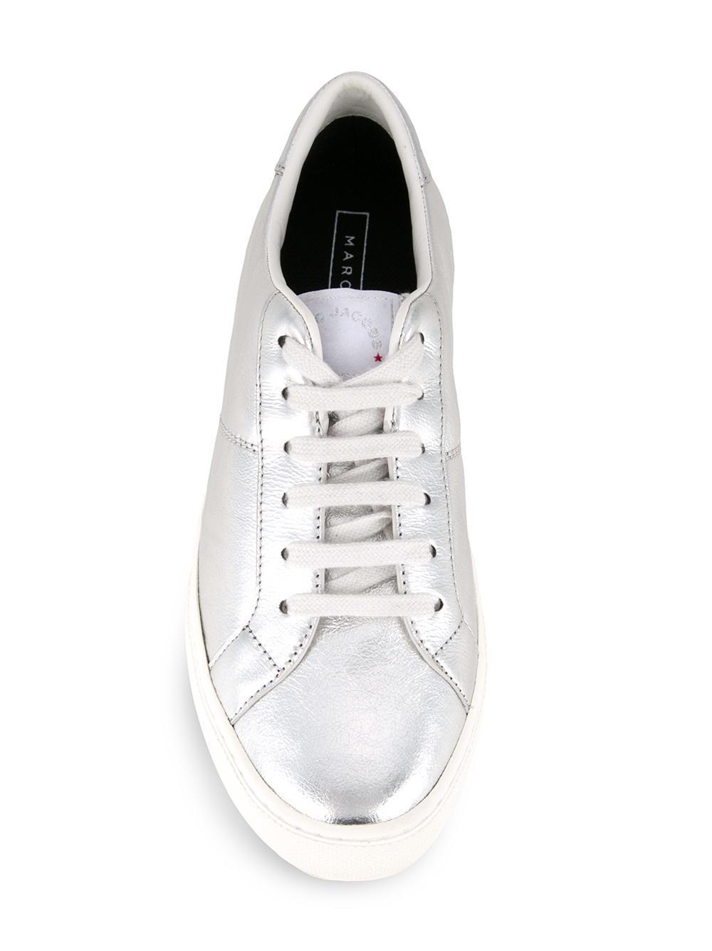 Marc Jacobs 'empire' Low Top Sneakers in Metallic