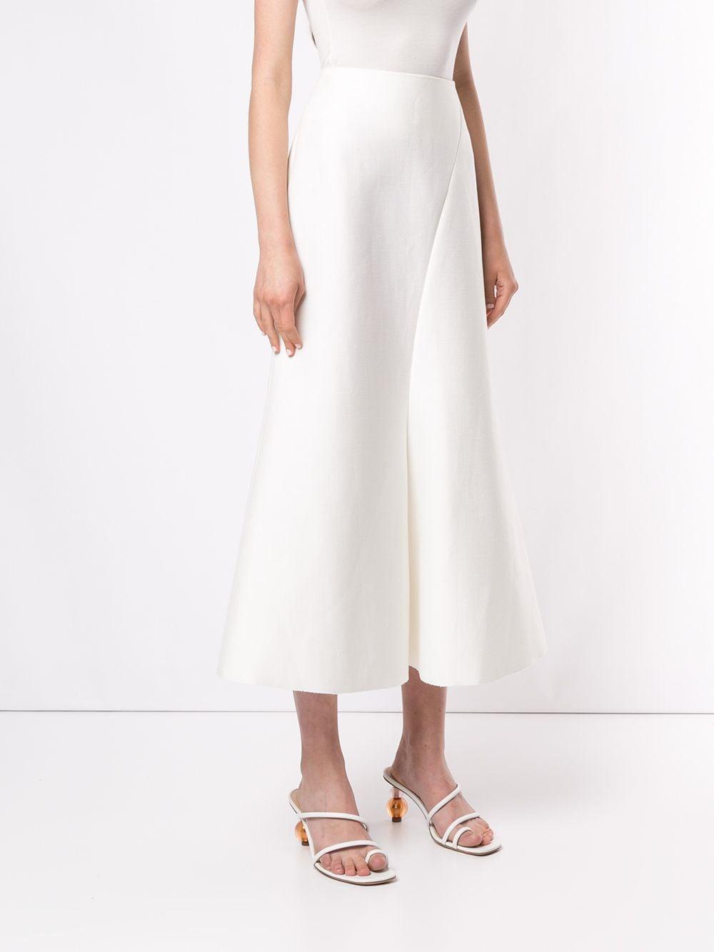 Falda Selkin Acler de Lino de color Blanco