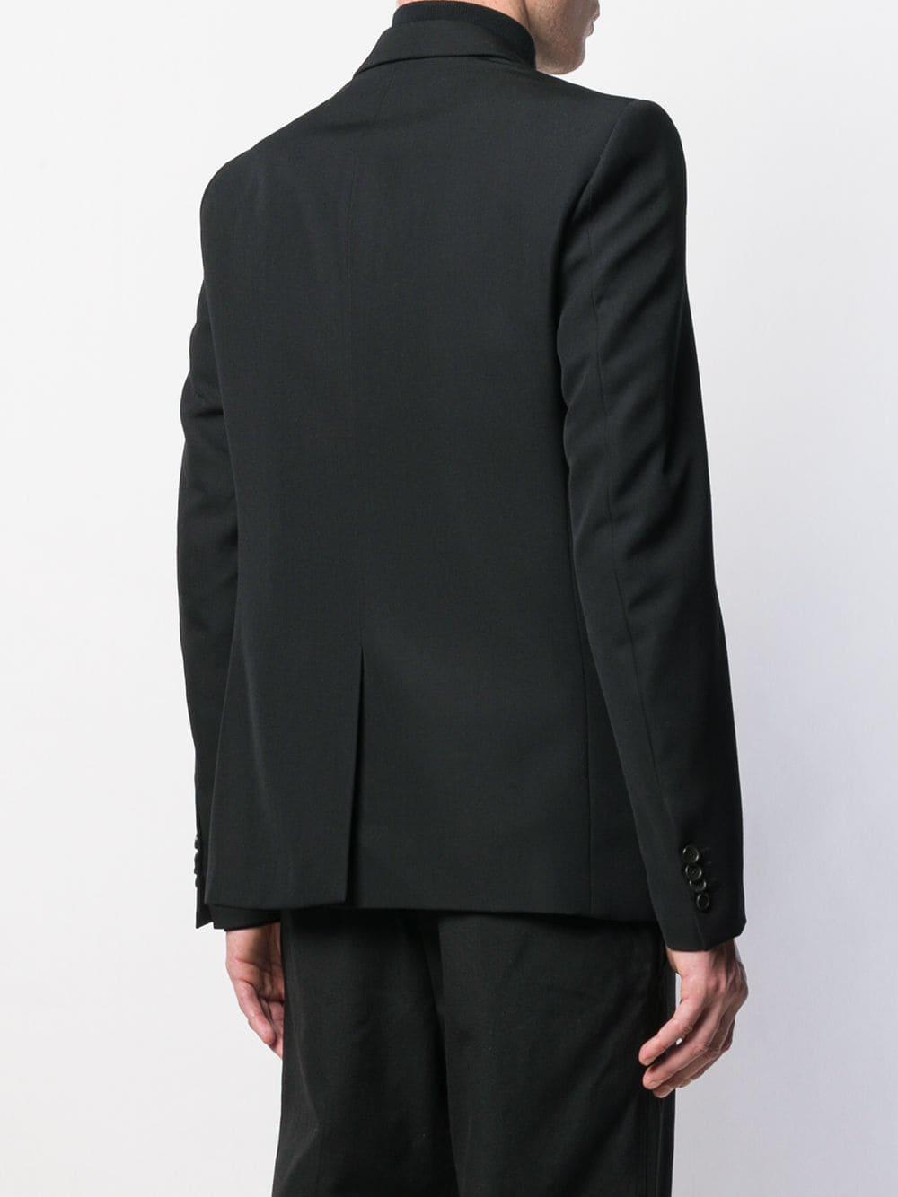 Stella McCartney Wol Blazer Met Logoprint in het Zwart voor heren