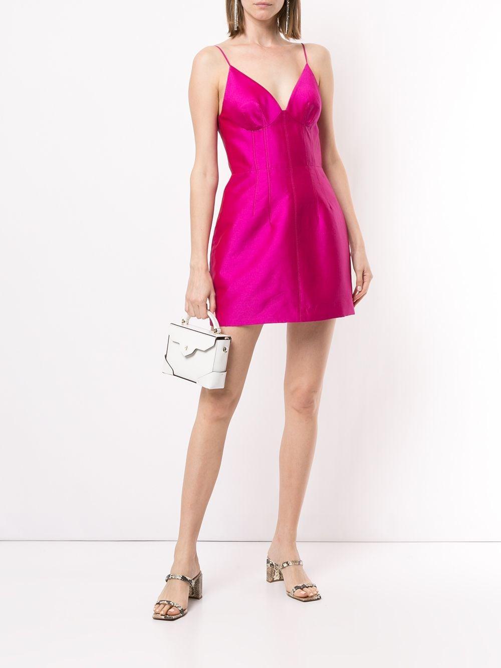 Vestido Ultra corto Manning Cartell de color Rosa