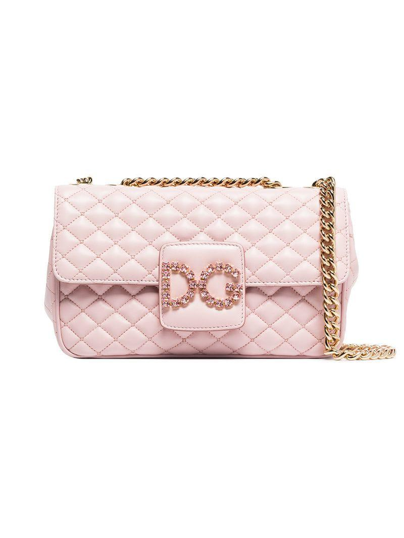 94c7fcafd7b9 Dolce   Gabbana Dg Millennial Shoulder Bag in Pink - Save ...