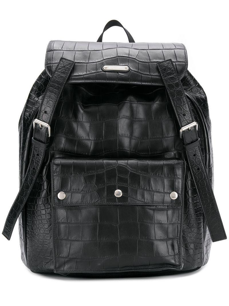 d3dc1764c Saint Laurent Noé Backpack in Black for Men - Lyst