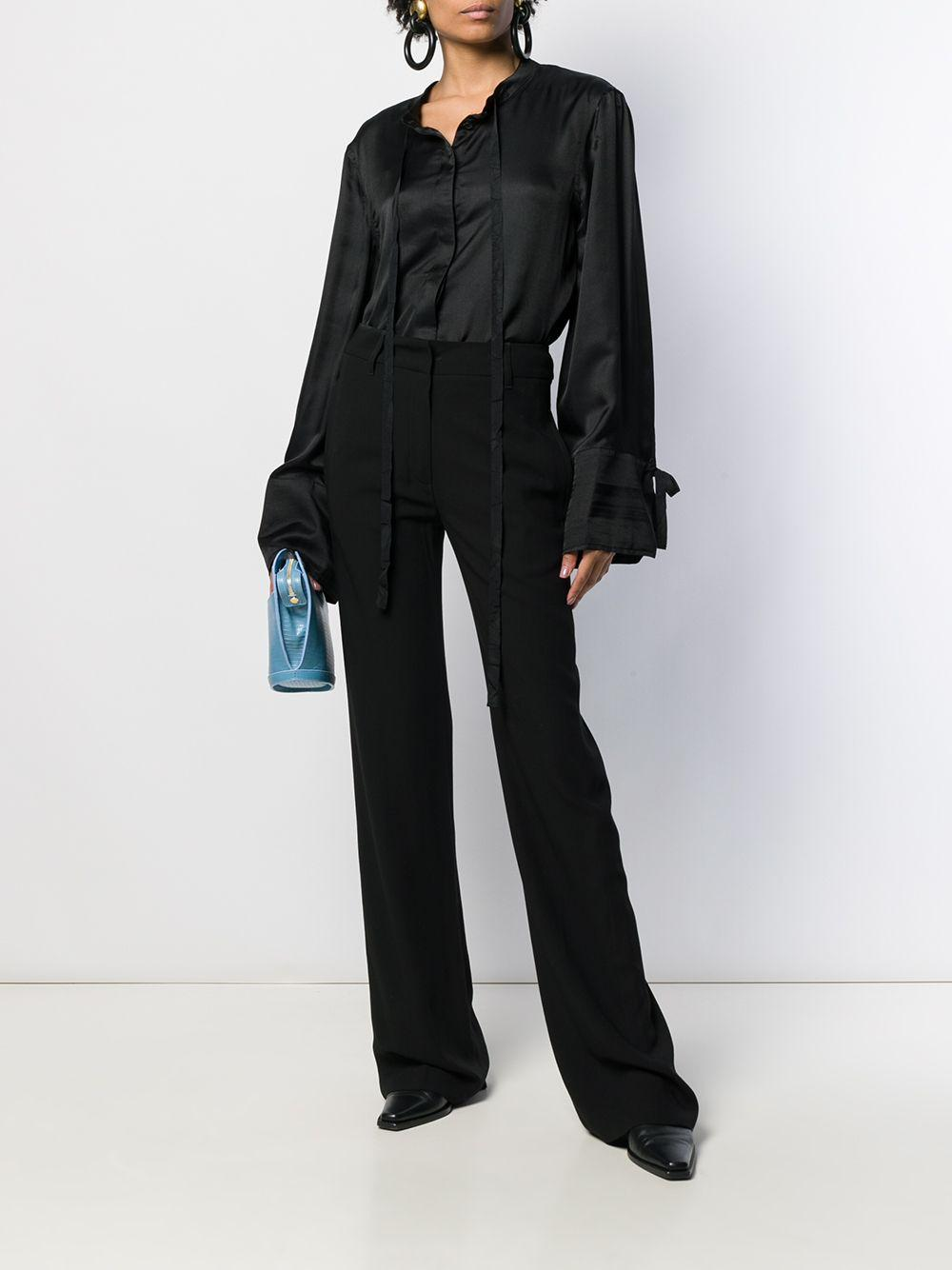 19022000P122 99 Synthetic->Rayon Ann Demeulemeester en coloris Noir