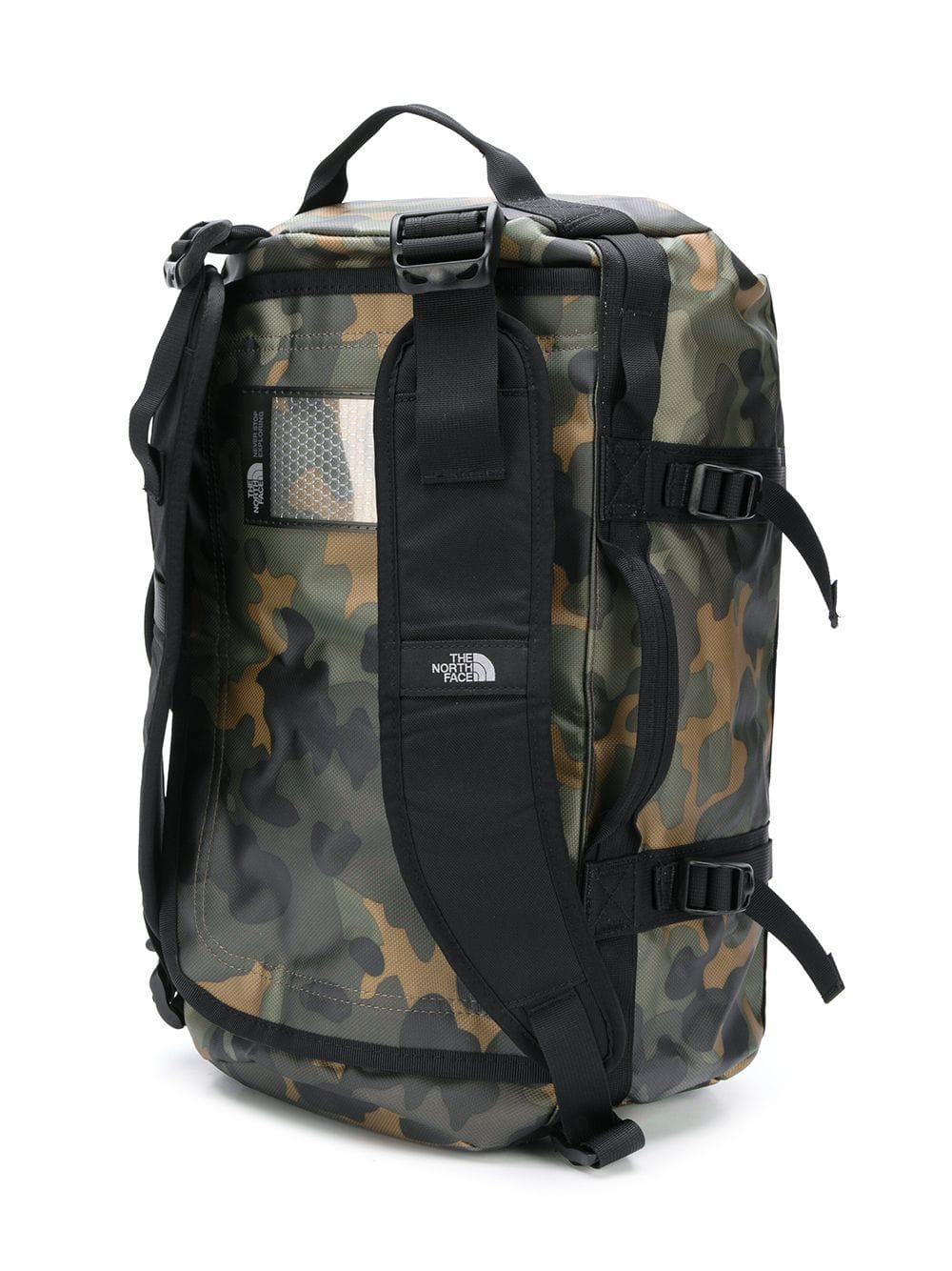 b2e374f221 The North Face Camp Duffel Backpack in Black for Men - Lyst
