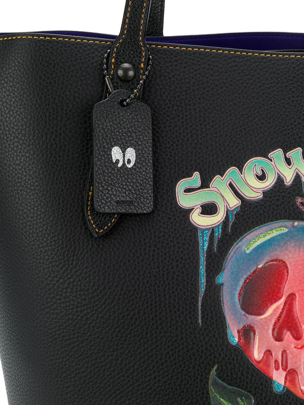 649dcc2b15c Lyst - COACH X Disney Snow White Tote in Black
