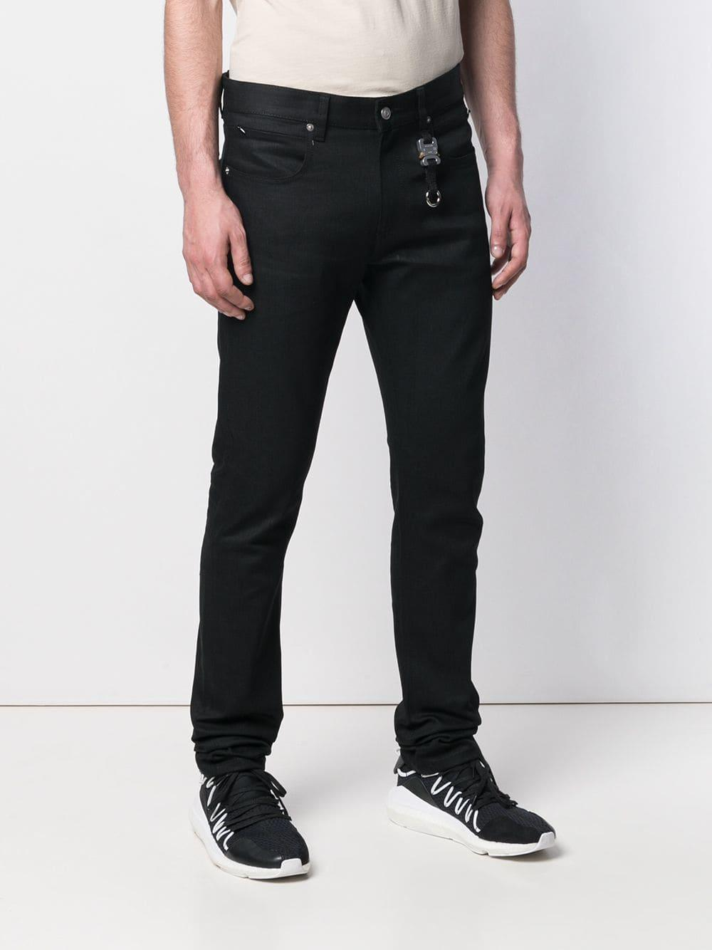 1017 ALYX 9SM Denim Straight Jeans in het Zwart voor heren