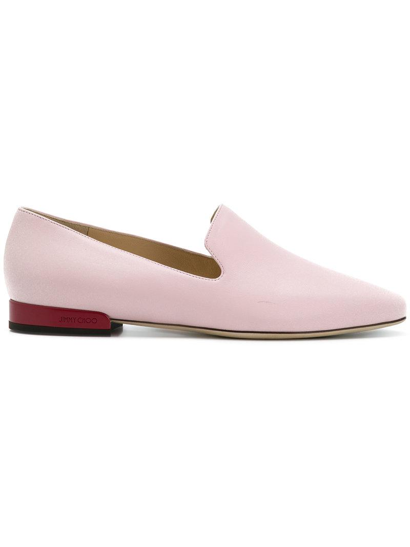 Jaida crystal mesh flat - Pink & Purple Jimmy Choo London sN51kWHfs