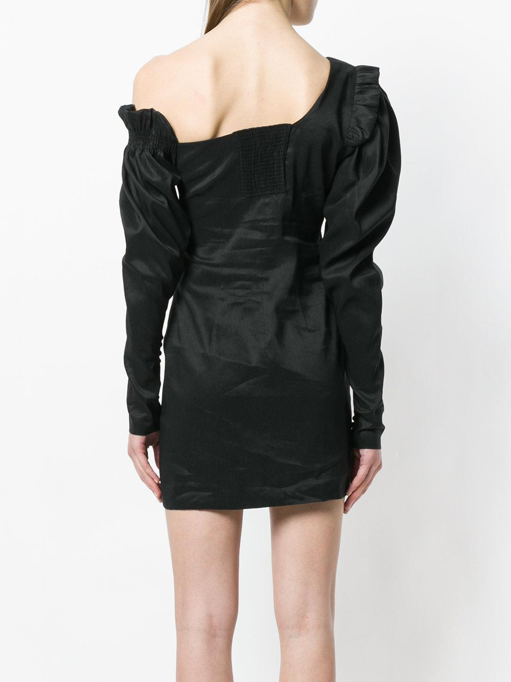 Magda Butrym Woman Ecija Faux Pearl-embellished Silk-satin Mini Dress Black Size 38 Magda Butrym Sale Outlet Discount The Cheapest Cheap Cheap Online Sale Excellent Sale For Nice QDkUw1
