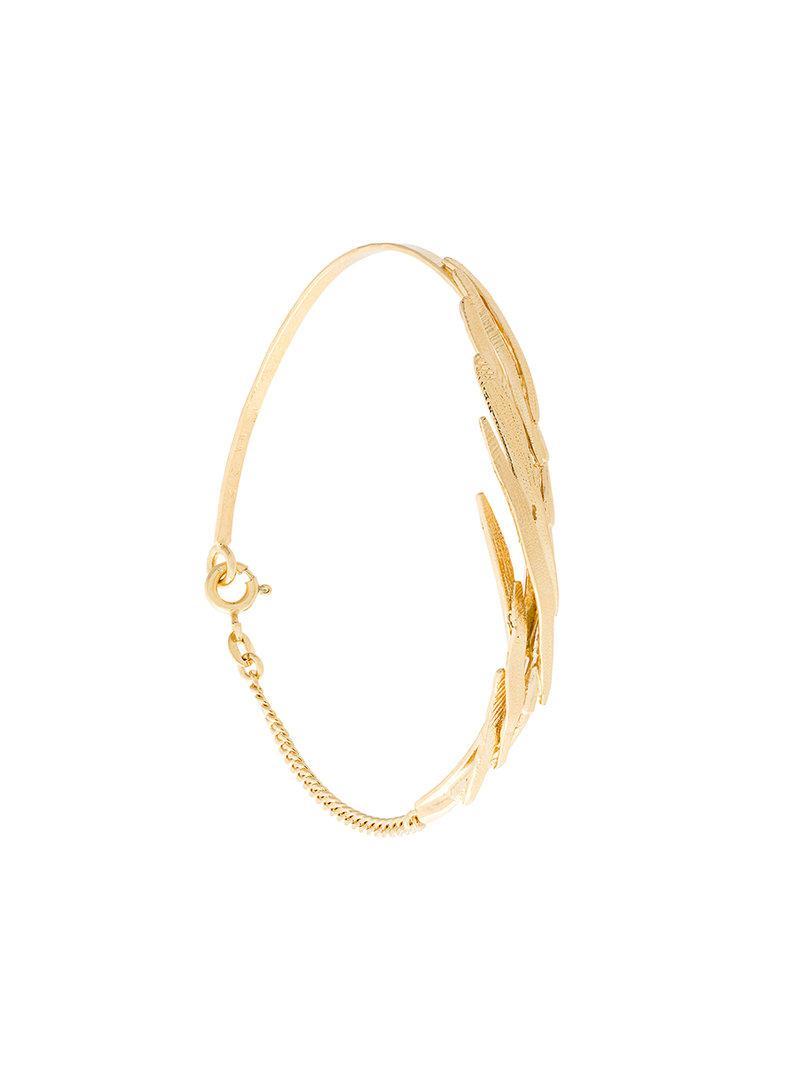 Wouters & Hendrix Technofossils Lock bracelet - Metallic LdiOX5zm