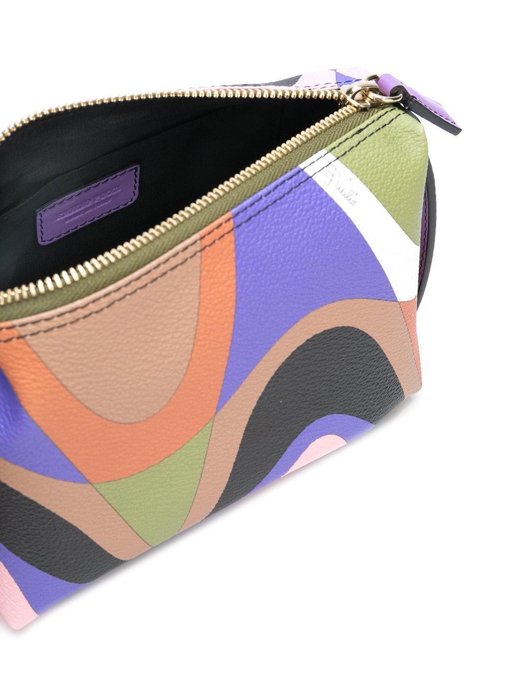 Imprimé Abstrait Sac De Maquillage - Multicolor Emilio Pucci Dd0OHhdamC