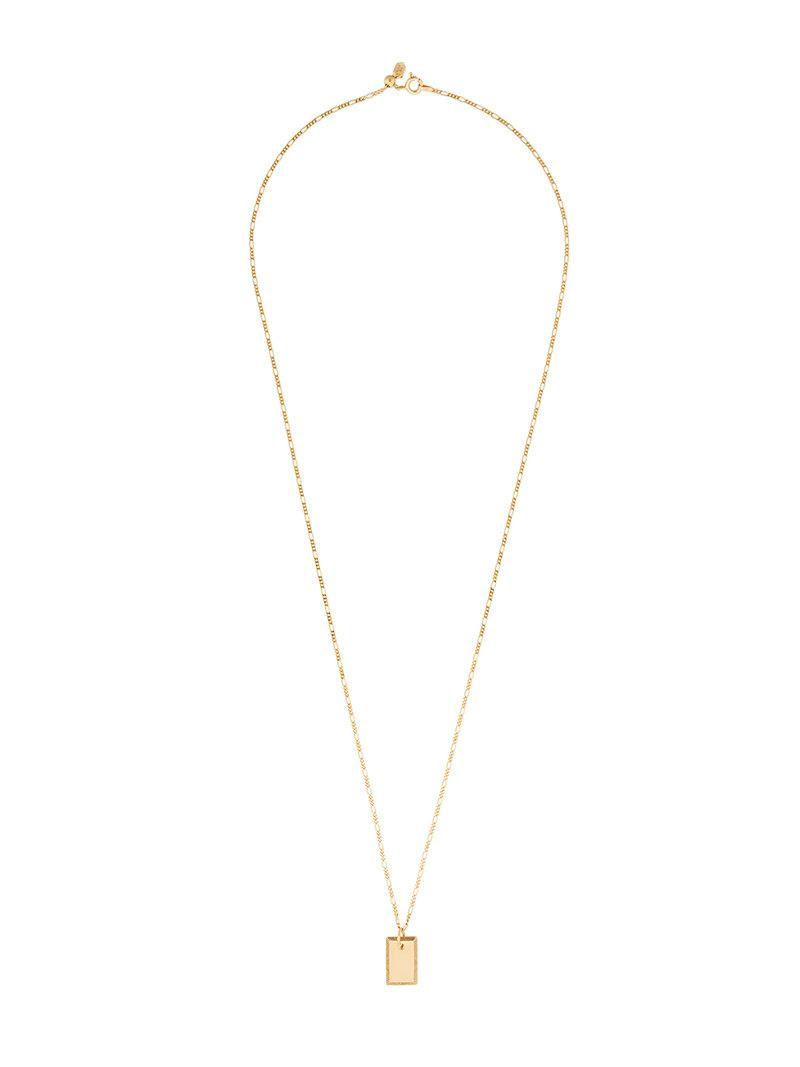 Maria Black Carlo necklace - Metallic e3nNP
