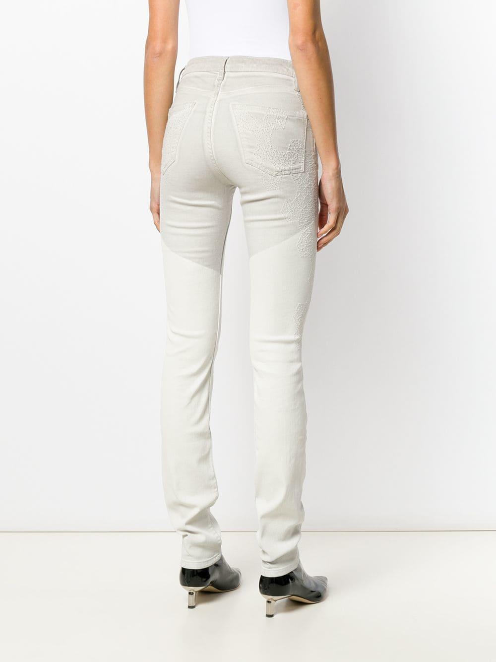 Zadig & Voltaire Denim Zweifarbige Jeans in Weiß X1Ref
