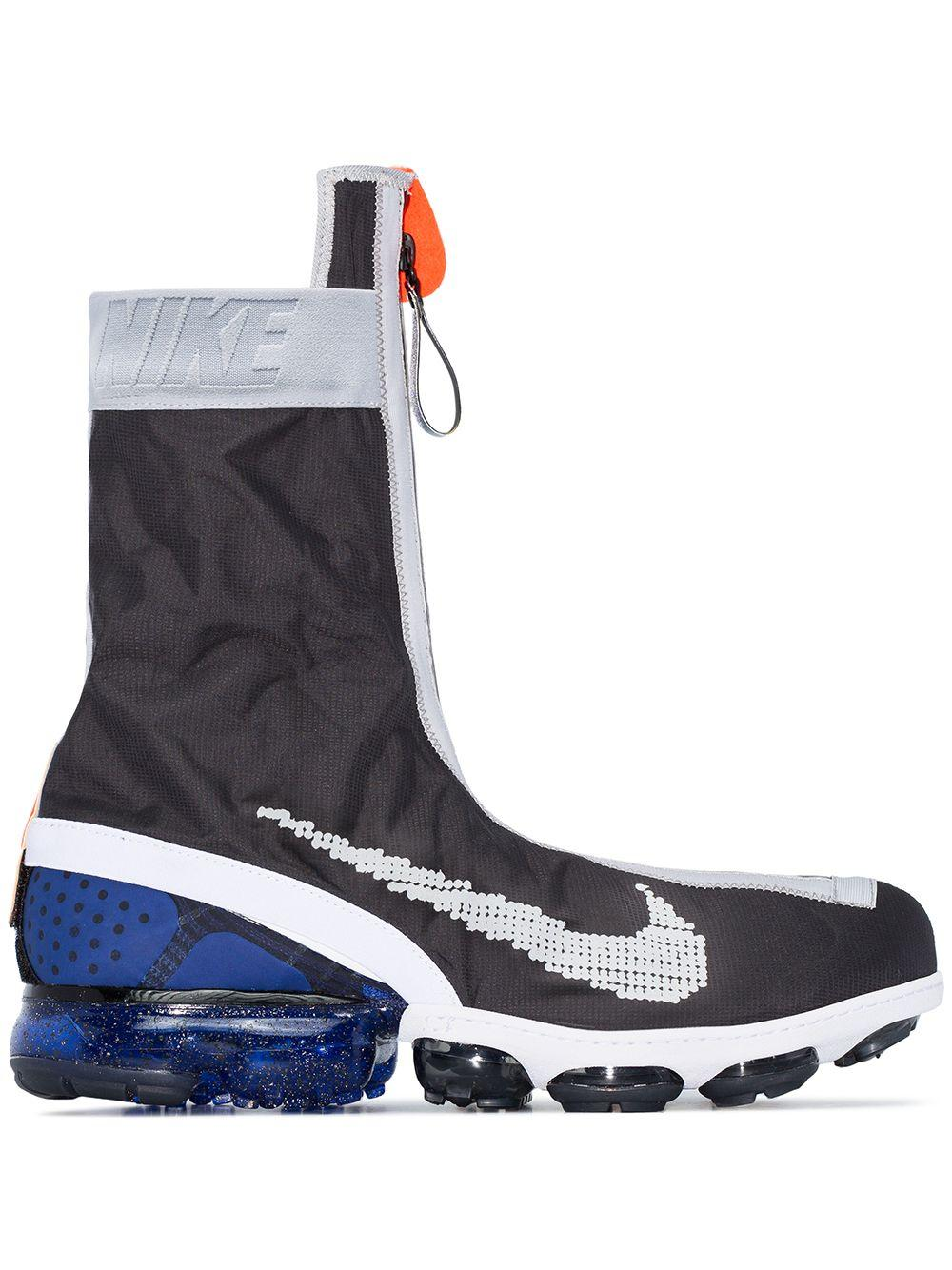 Nike Synthetic Air Vapormax Flyknit Gaiter Ispa Sneakers in Black ...
