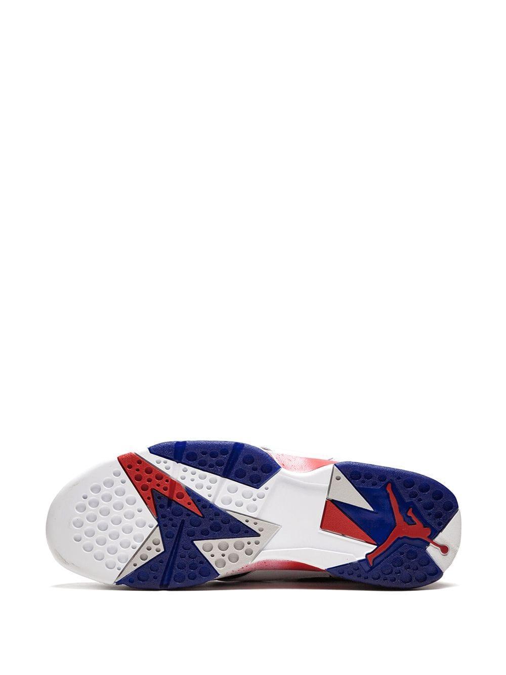 Zapatillas Air 7 Retro Nike de Caucho de color Blanco para hombre