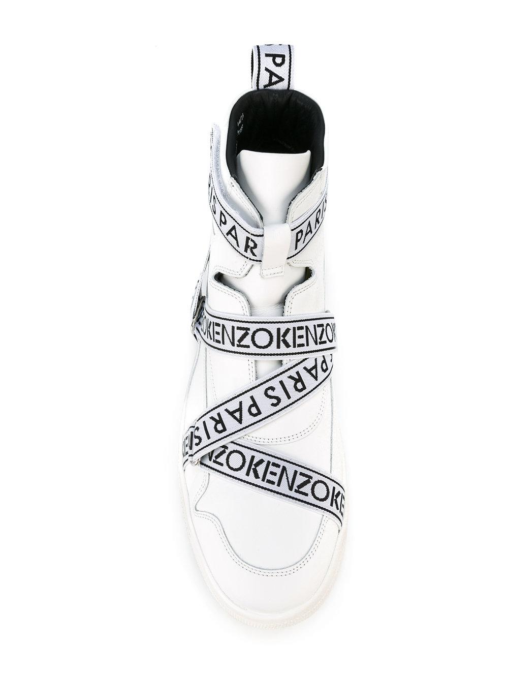 686f1a36 KENZO Coby Hi-top Sneakers in White for Men - Lyst