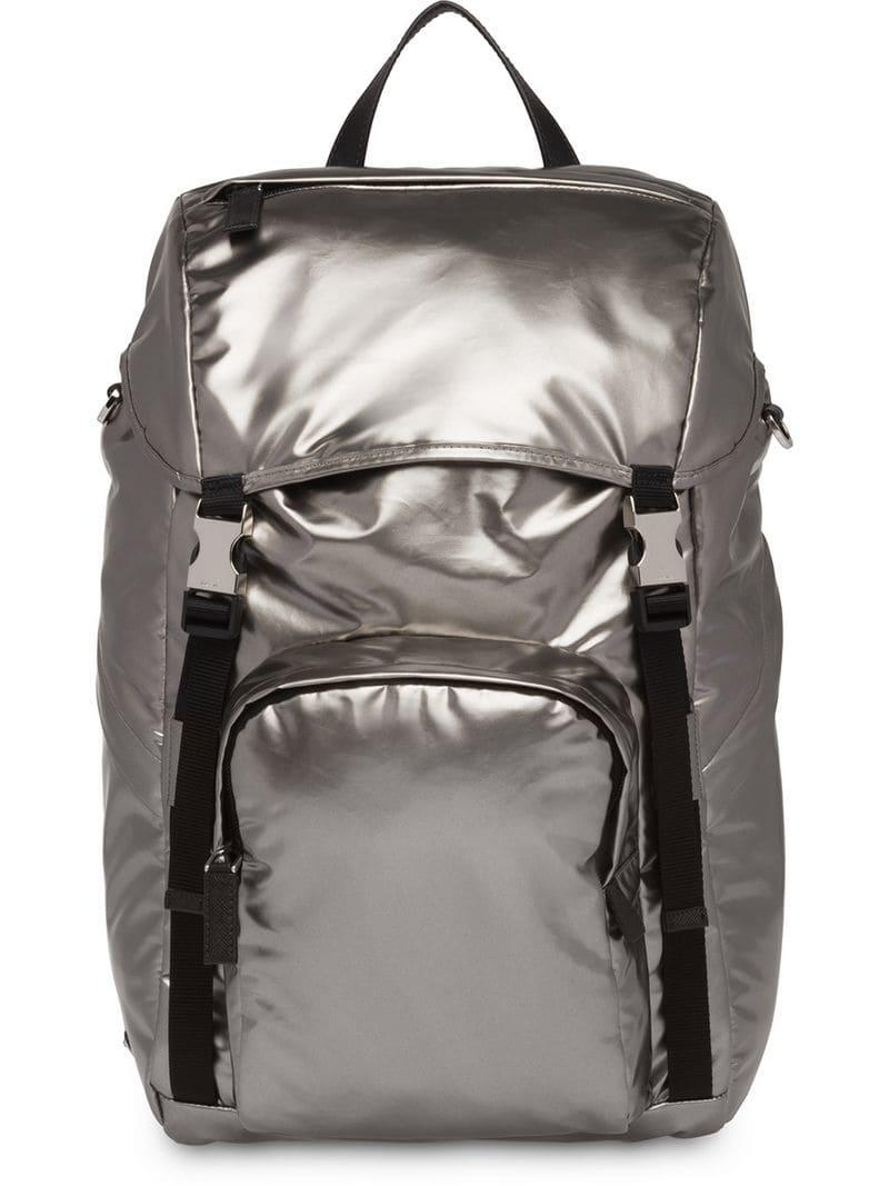 30f913e71765 Lyst - Prada Technical Fabric Backpack in Black for Men - Save ...