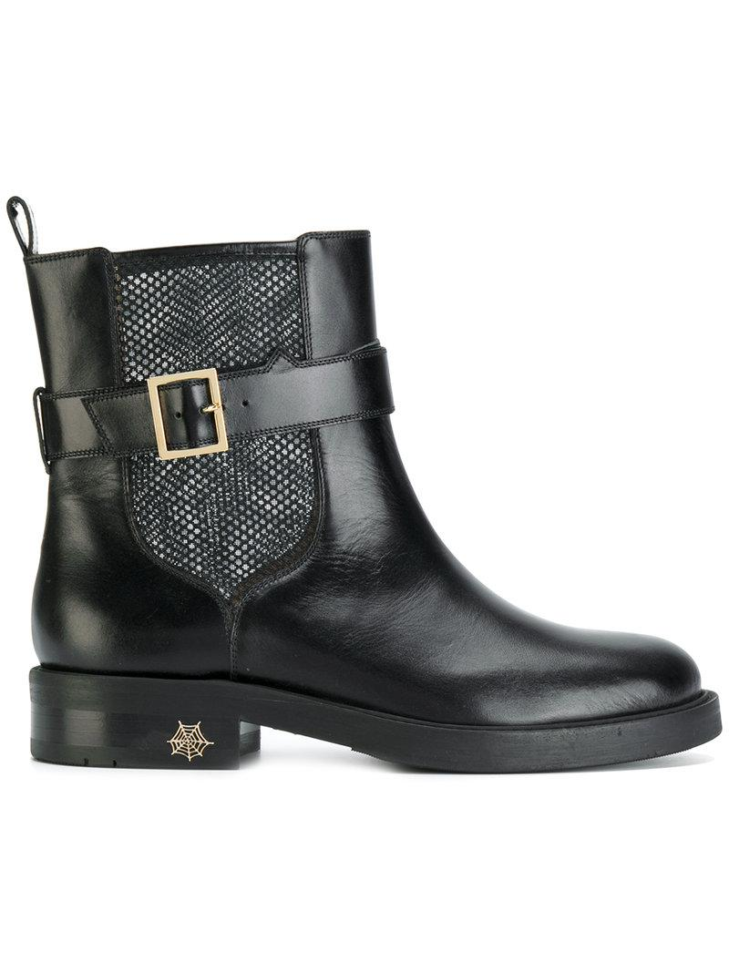 Charlotte Olympia Bottes D'insertion De Maille - Noir XkRNGLgd