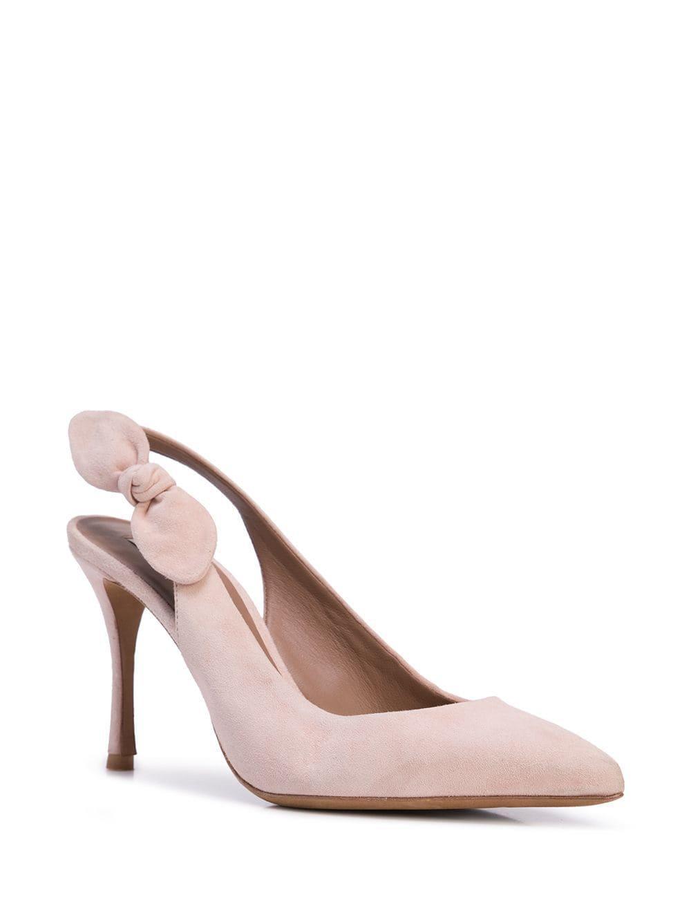 Zapatos de tacón Millio con tira trasera Tabitha Simmons de Ante de color Rosa