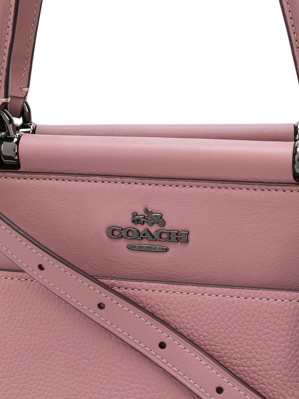 85fe506fdb Lyst - COACH Grace Shoulder Bag in Pink