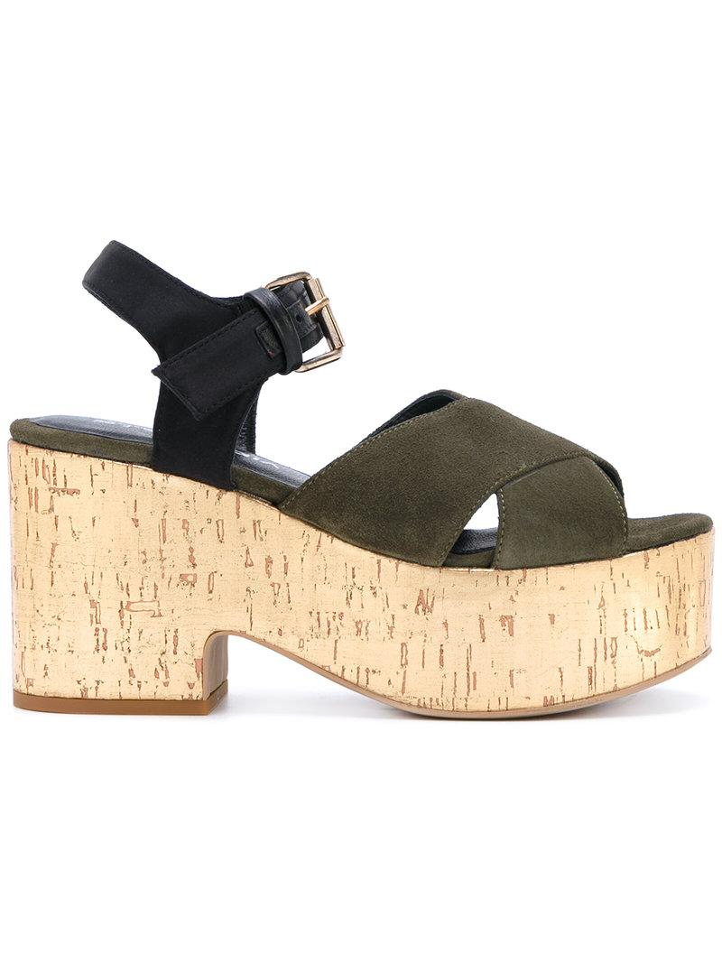 Strategia Crossover platform sandals ARQOkT01GQ