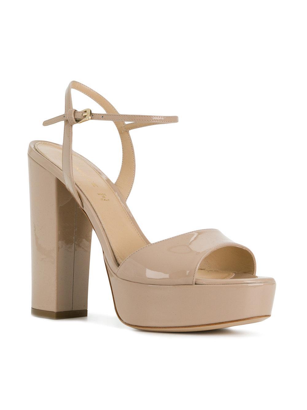 high platformed sandals - Nude & Neutrals Deimille dCDi86x