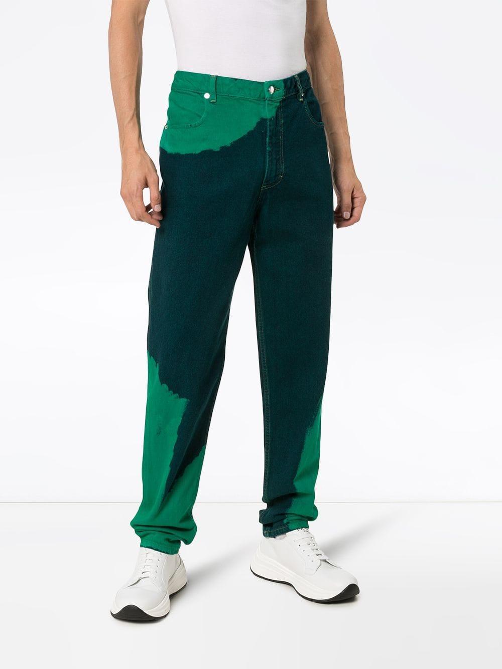 Eckhaus Latta Denim Straight Jeans in het Blauw voor heren
