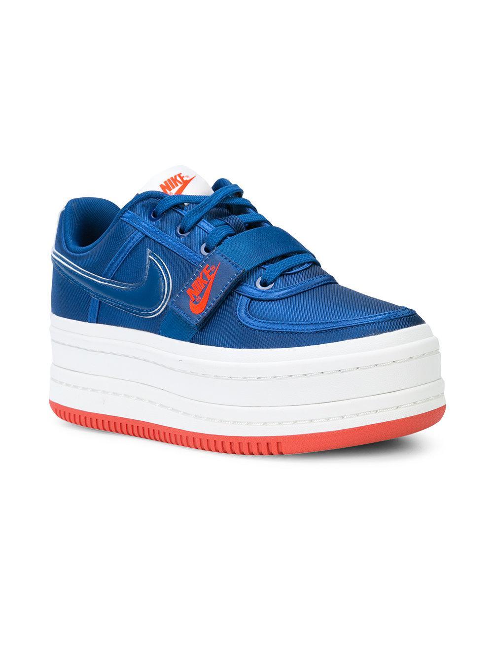 Nike Leather Vandal 2x Sneakers in Blue