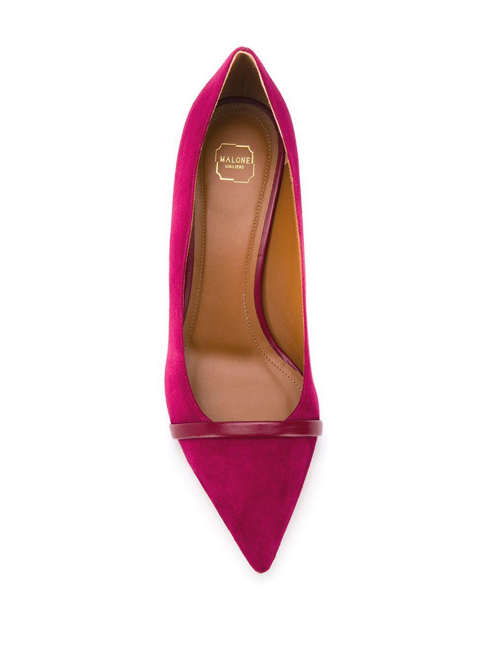 Zapatos de tacón Maybellem Malone Souliers de Ante de color Rosa