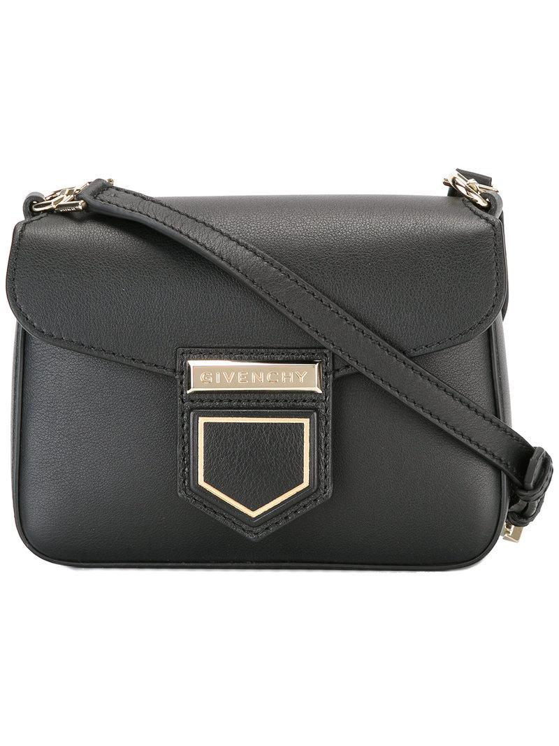 3f4df29cae Givenchy - Black Nobile Mini Cross-body Bag - Lyst. View fullscreen