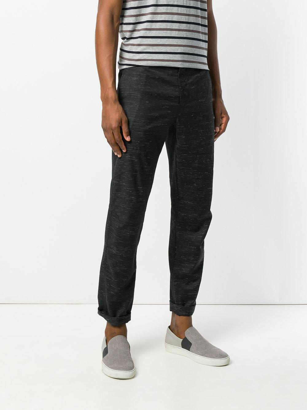 straight leg marl trousers - Black Lanvin iKn8yQWe