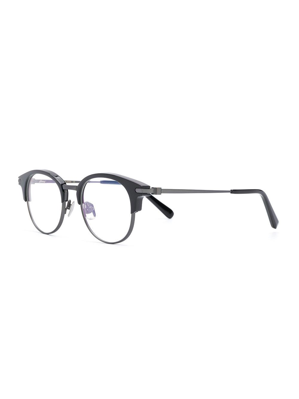 cdbfe52c17 Lyst - Brioni Round-frame Glasses in Black for Men