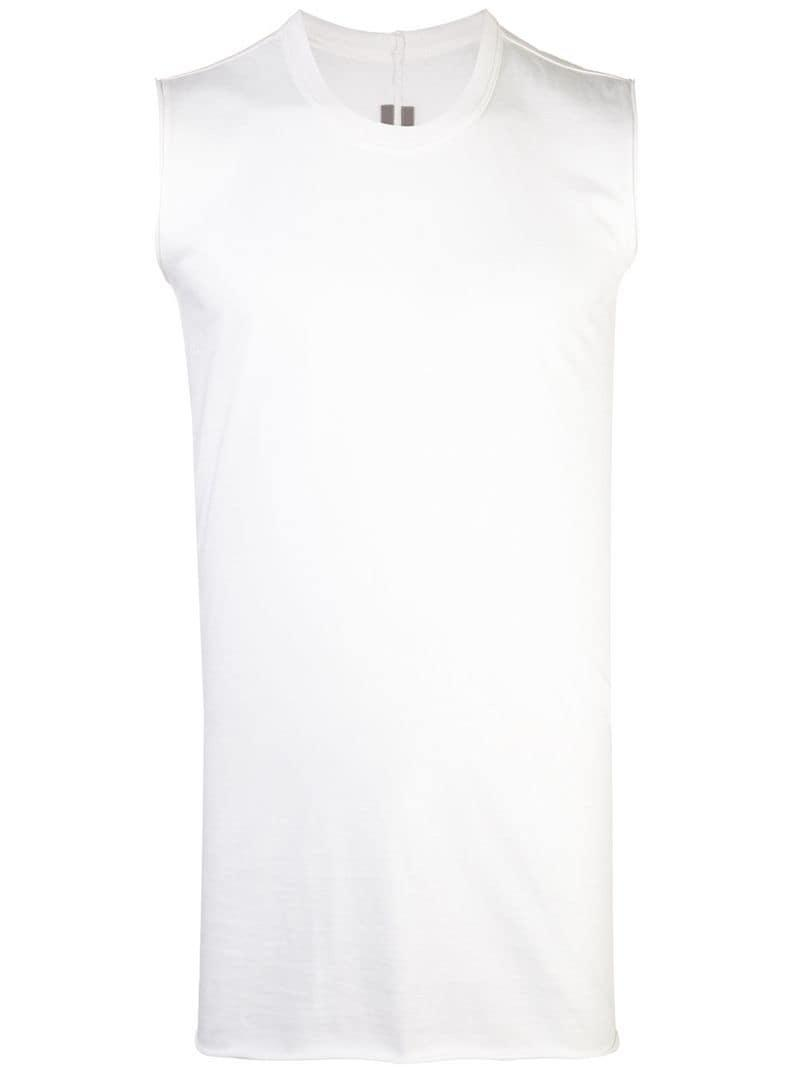 7e0dfd521fffa Lyst - Rick Owens Fitted Tank Top in White for Men