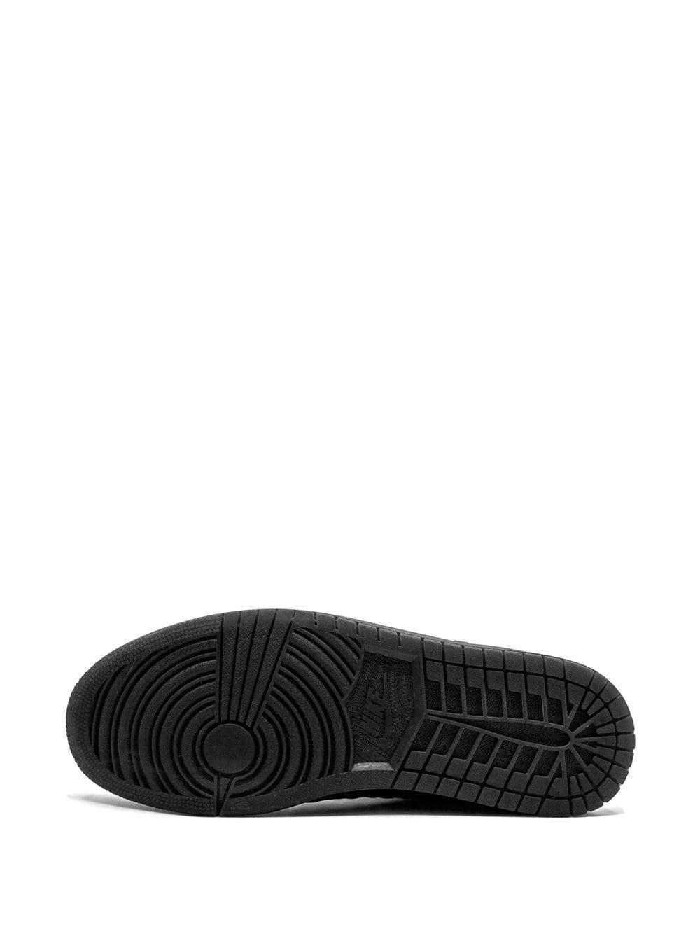 Nike Leer Spizike Sneakers in het Zwart voor heren