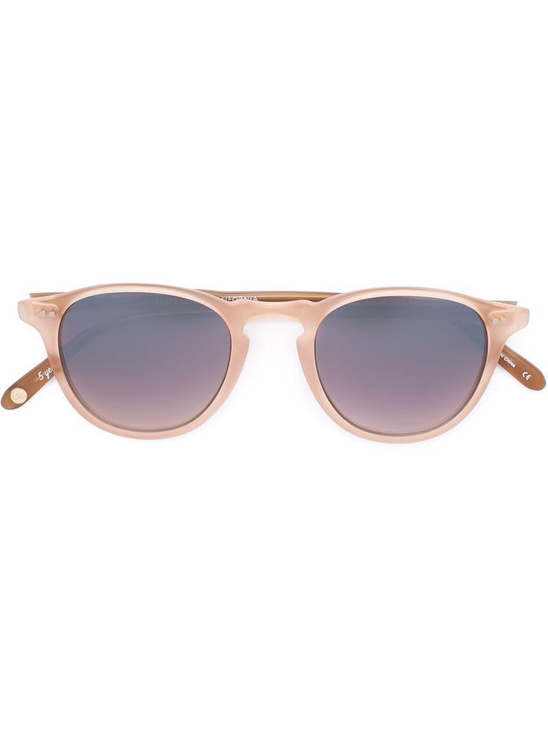 Hampton sunglasses - Pink & Purple Garrett Leight p5bLhgu4Y