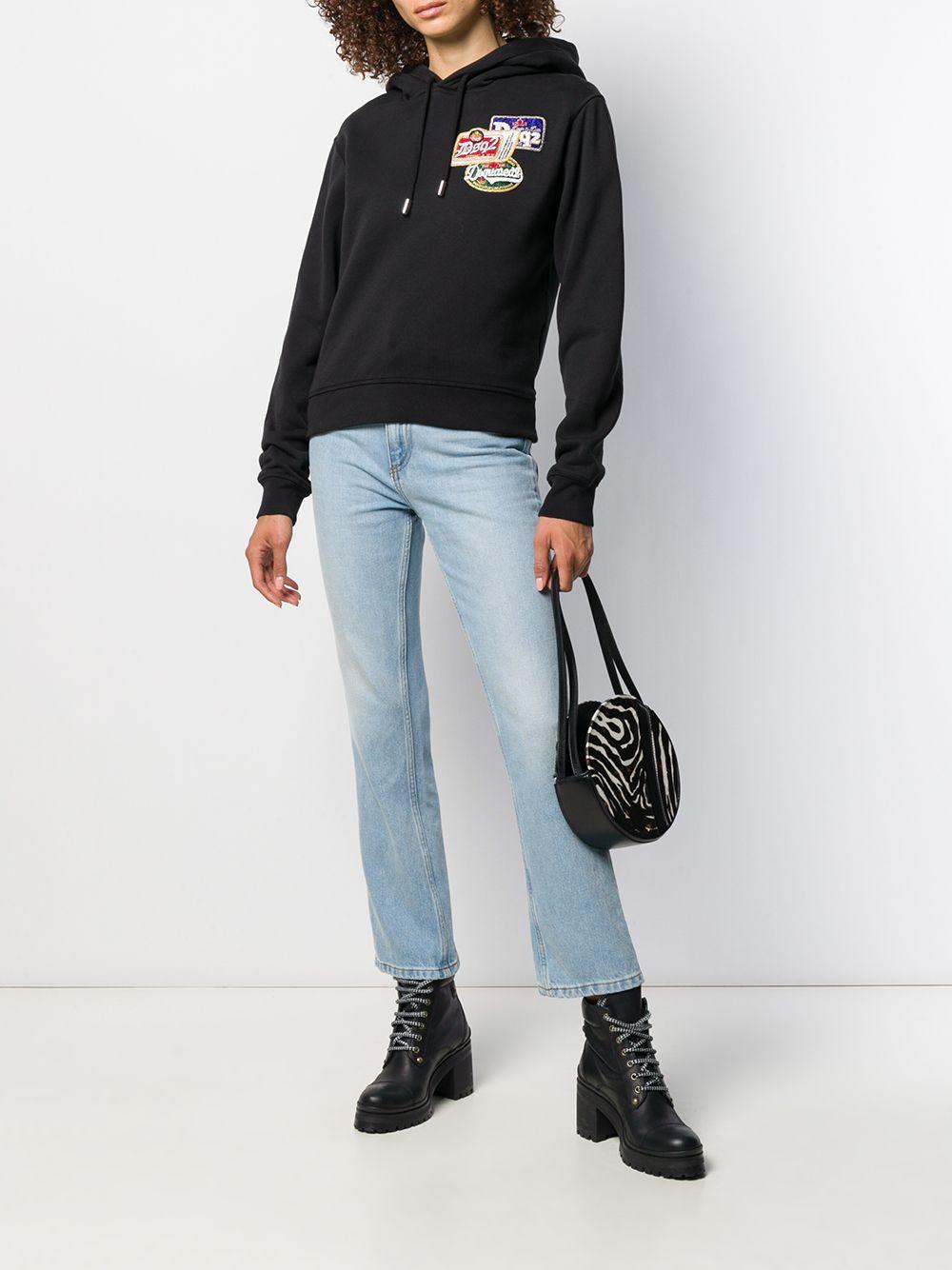 Magda Butrym Denim 'Richland' Jeans in Blau HyY12