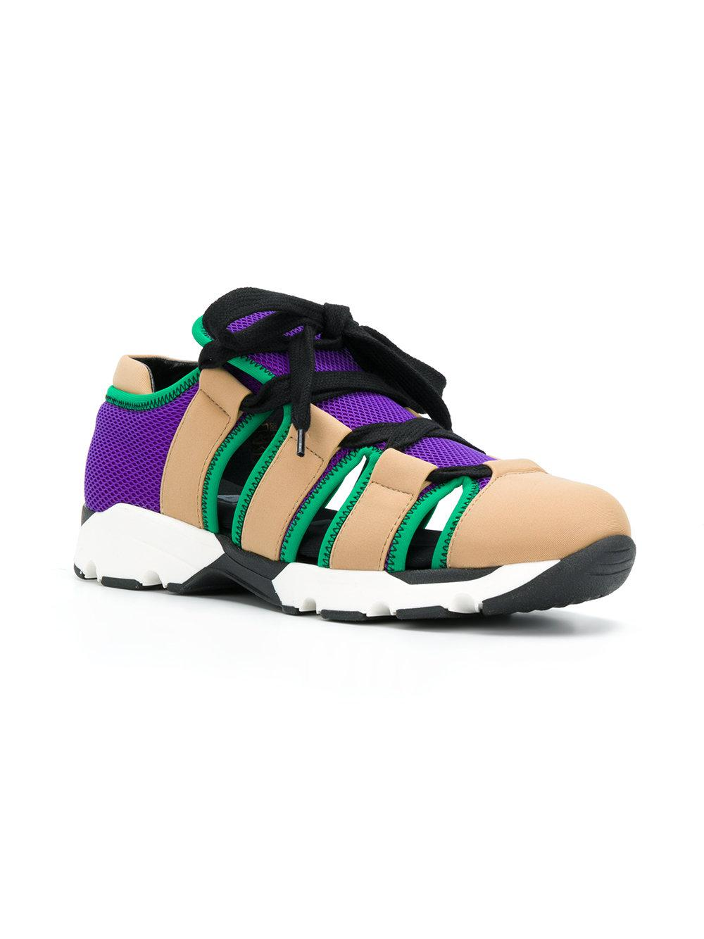 Chaussures De Sport Techno Marni - Polychromes Zc73koue