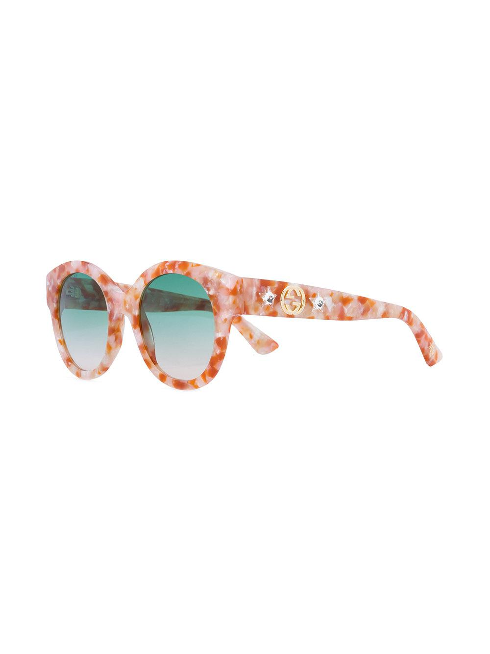 605a082276 Gucci. Women s Round-frame Star Sunglasses