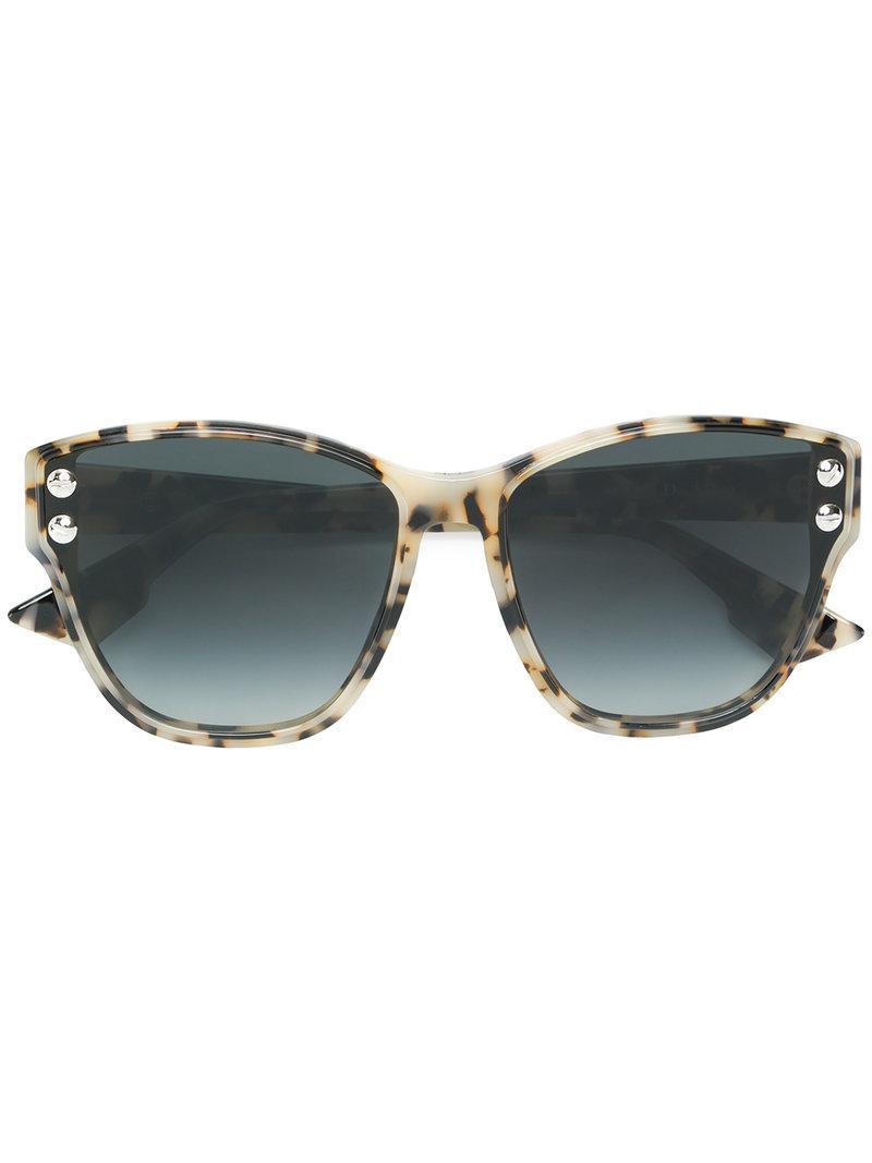 e52dd15628 Dior Addict Sunglasses in Brown - Lyst