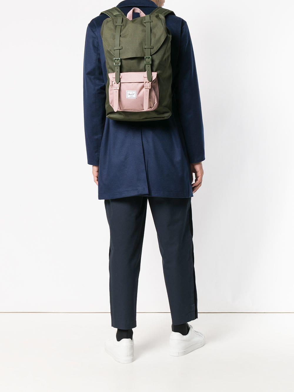 e1ff1afa9ff Herschel Supply Co. Medium Little America Backpack in Green for Men ...
