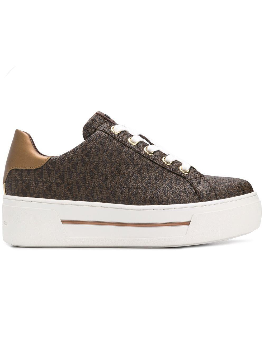 1578deaf517 Lyst - MICHAEL Michael Kors Ashlyn Sneakers in Brown