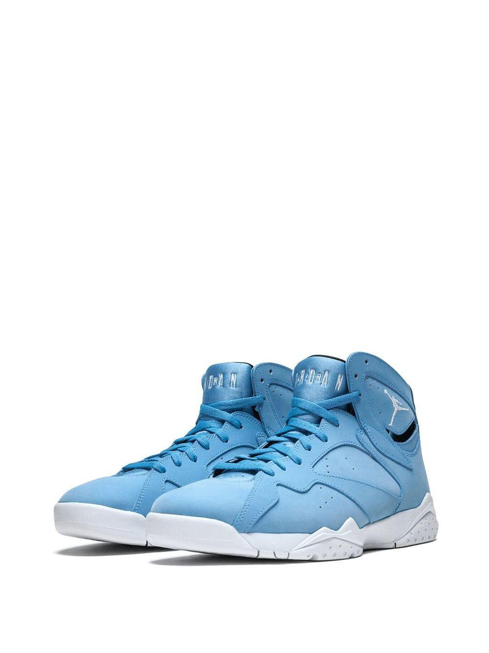 Nike Leather Air 7 Retro Sneakers in Blue for Men