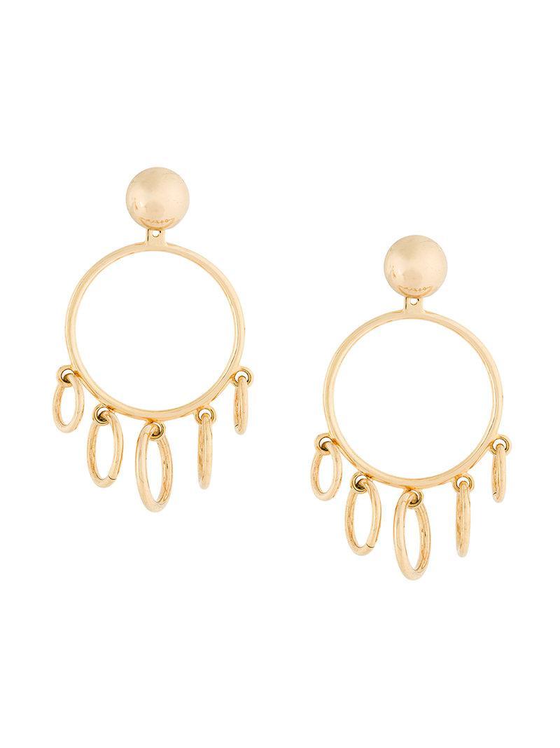 stick earrings - Metallic Eshvi btZaaQQ