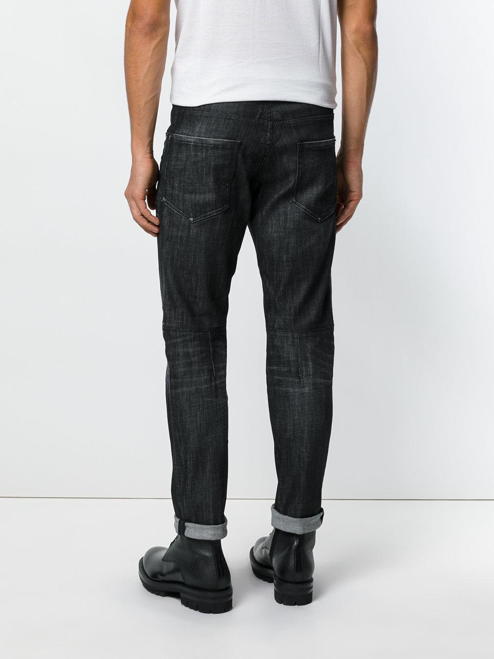 DSquared² Denim City Biker Jeans in Blue for Men