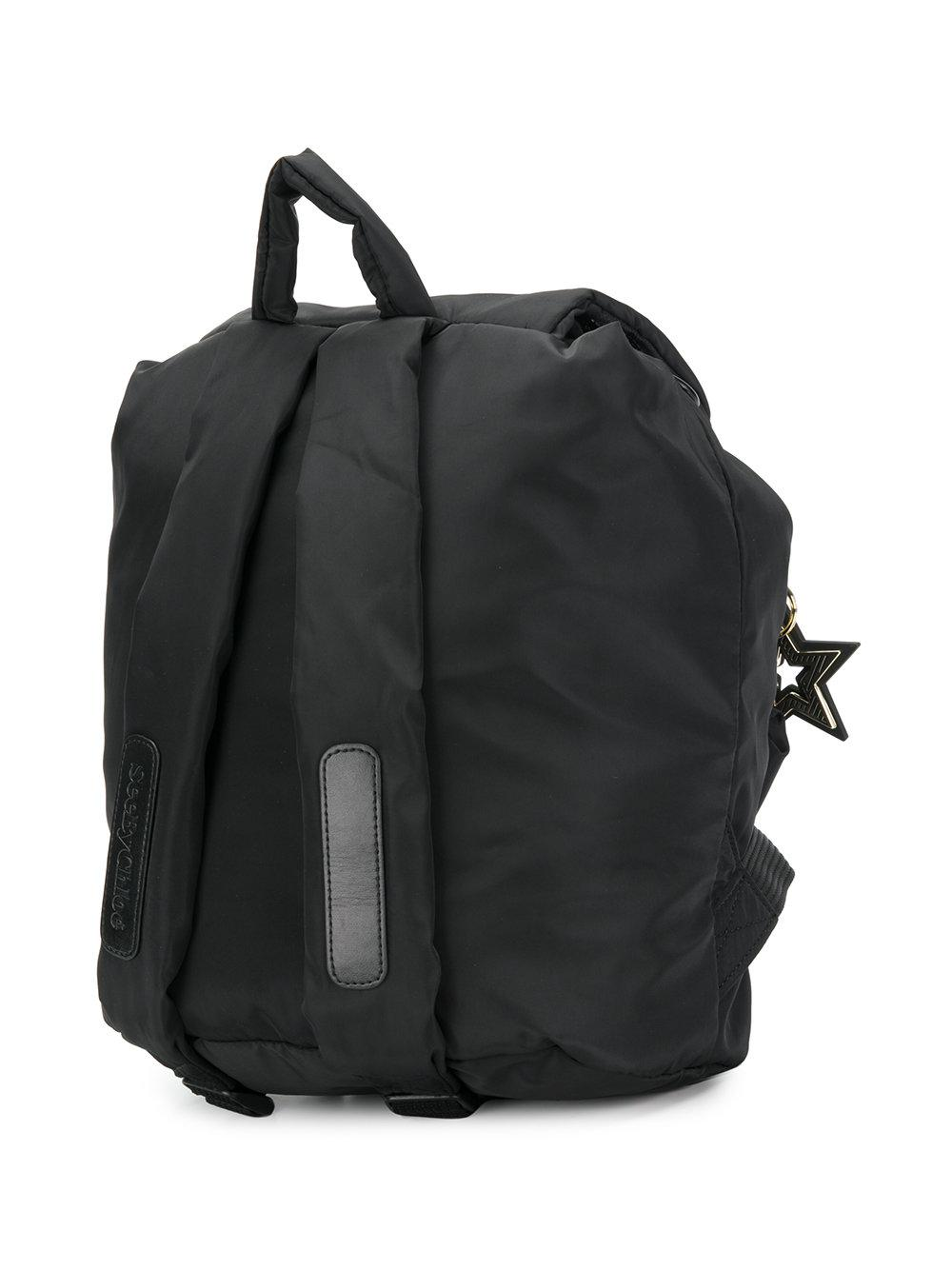 See By Chloé Cotton Star Embellished Backpack in Black