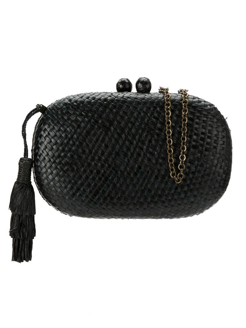 hanging tassel clutch - Blue Serpui Clearance Online Official Site Discount Outlet 1v8Iu