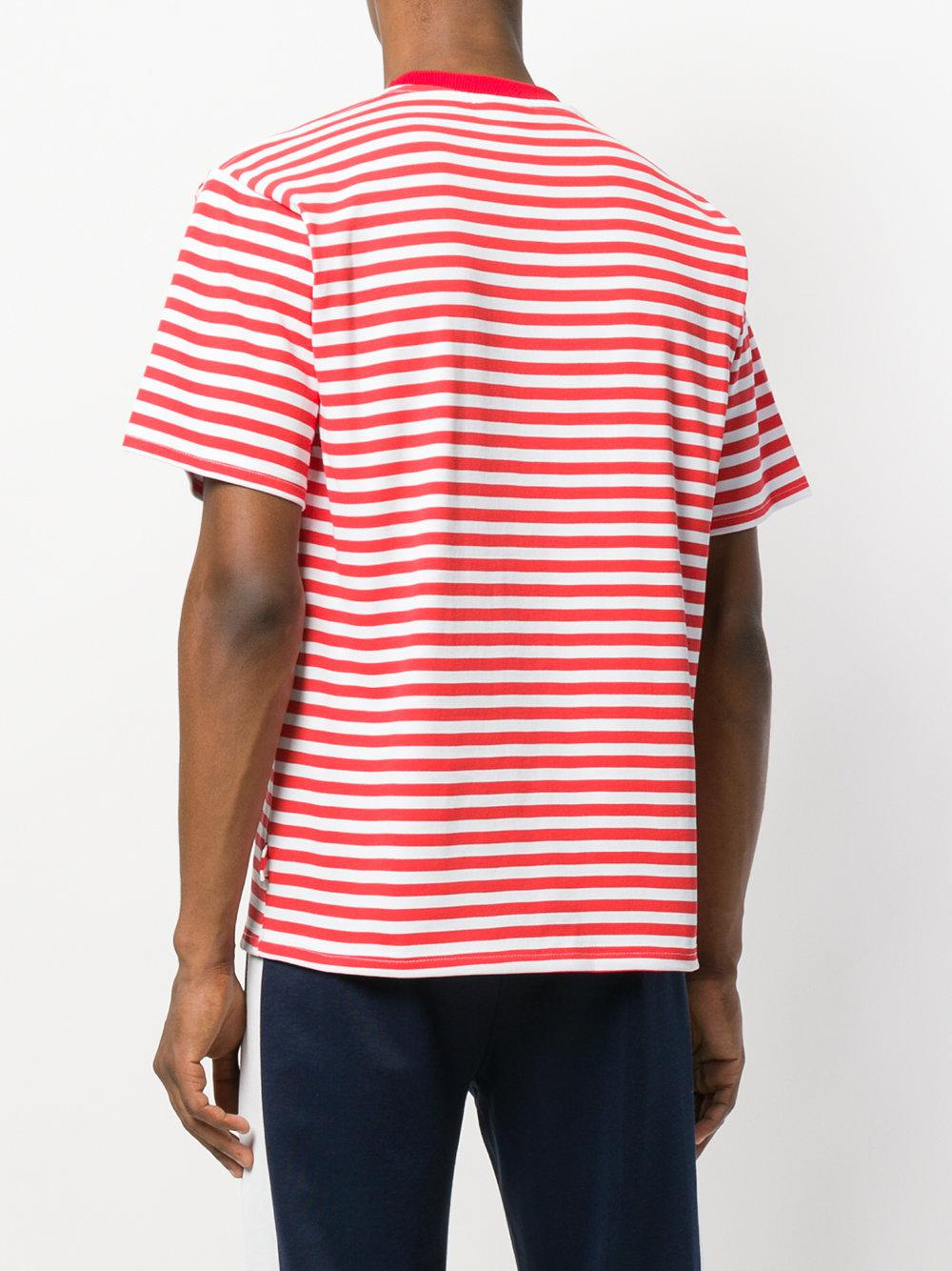 892ae7ee80 Gcds Striped T-shirt in Red for Men - Lyst