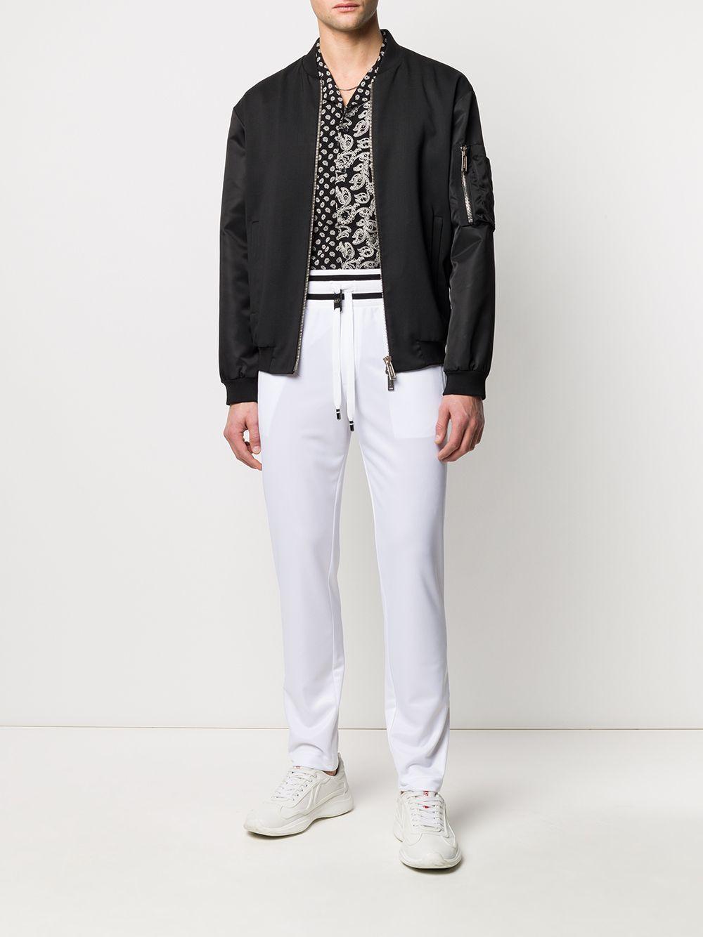 Dolce & Gabbana Synthetisch Trainingsbroek Met Logopatch in het Wit voor heren