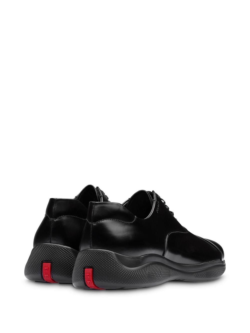 Zapatos oxford Prada de Cuero de color Negro para hombre