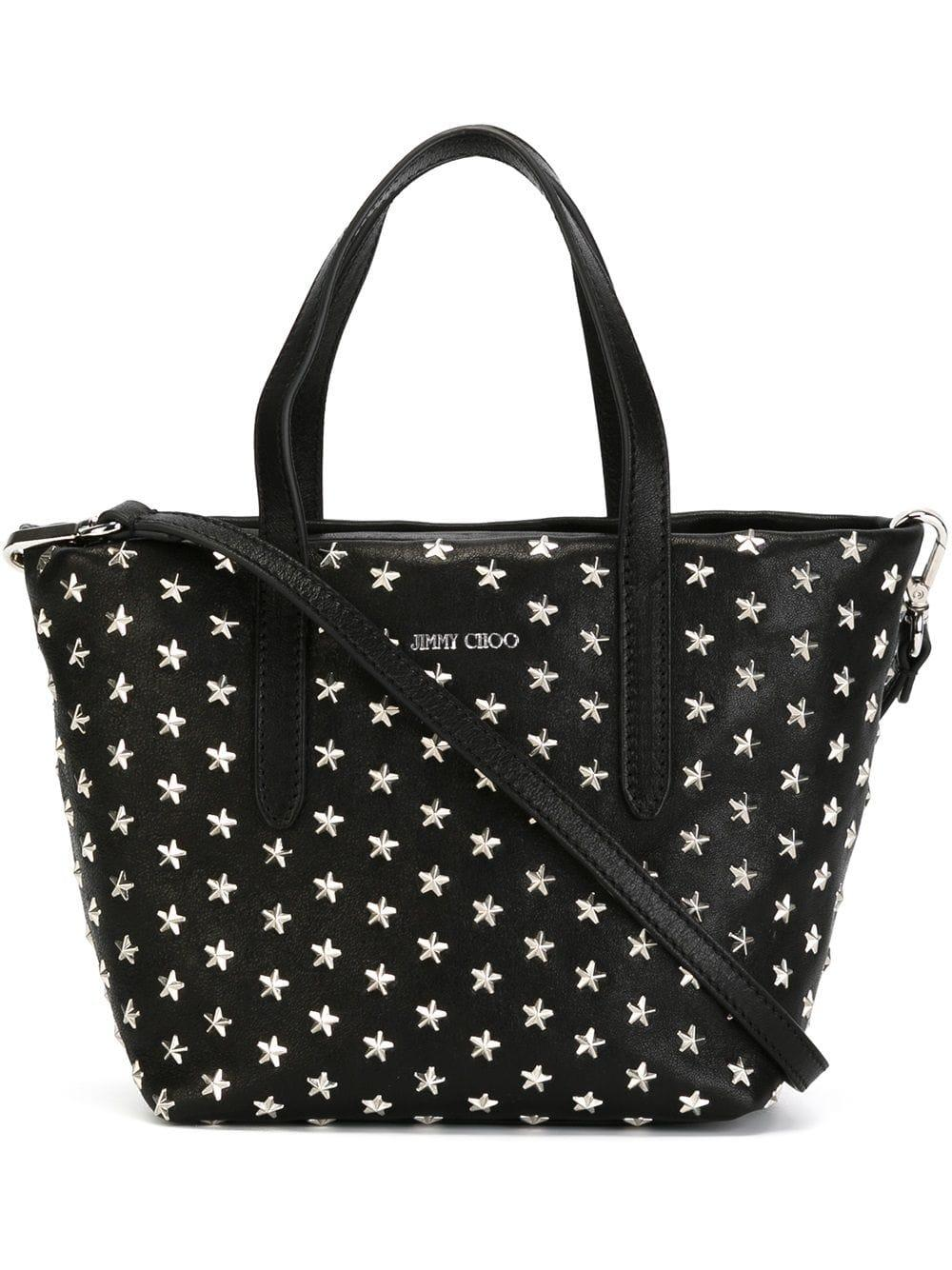 Jimmy Choo Mini Sara Tote Bag in Black
